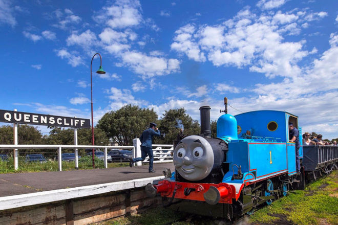Enjoy a Day out with Thomas these school holidays at Bellarine Railway
