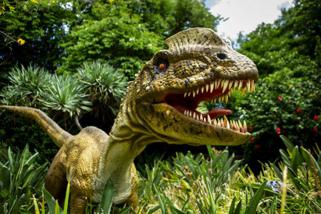 Dino Park comes to Zoos Victoria this Autumn school holidays