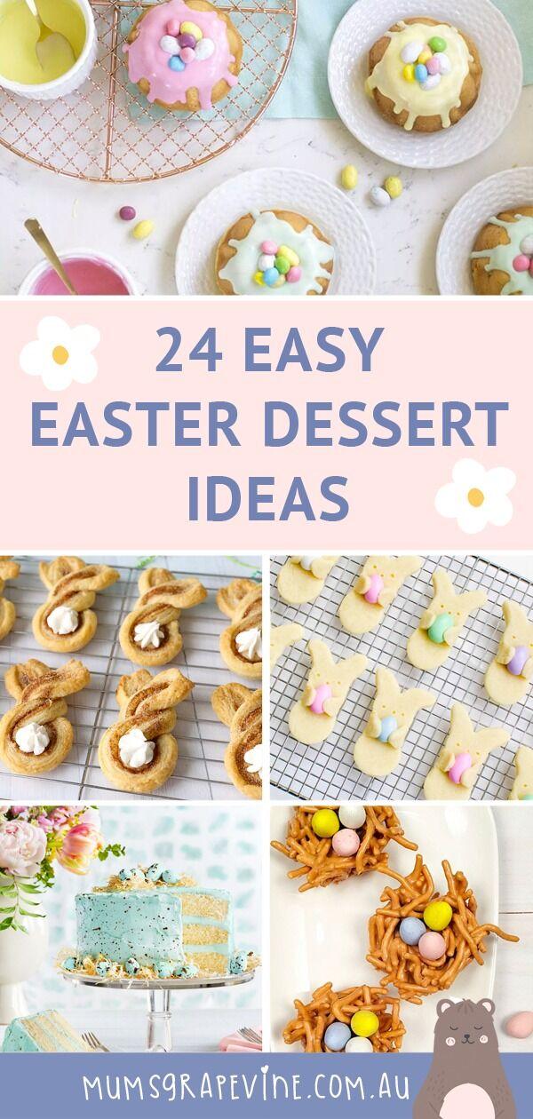 24 Easy Easter Desserts