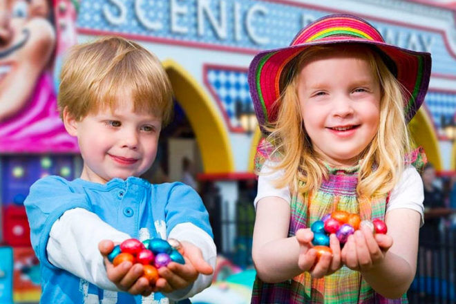 Easter school holiday activities at Luna Park