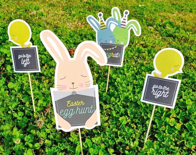 Easter hunt game