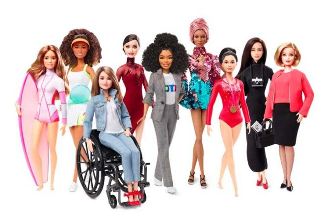 Inspirational women Barbie dolls