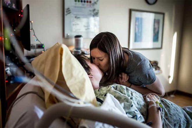 Jennifer Mason birth photos