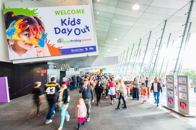 Kids Day Out, this years Good Friday Appeal events and activities