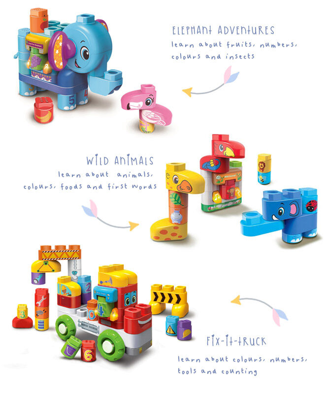 LeapBuilders talkign building block sets