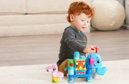 LeapBuilders Wild Animals interactive building blocks