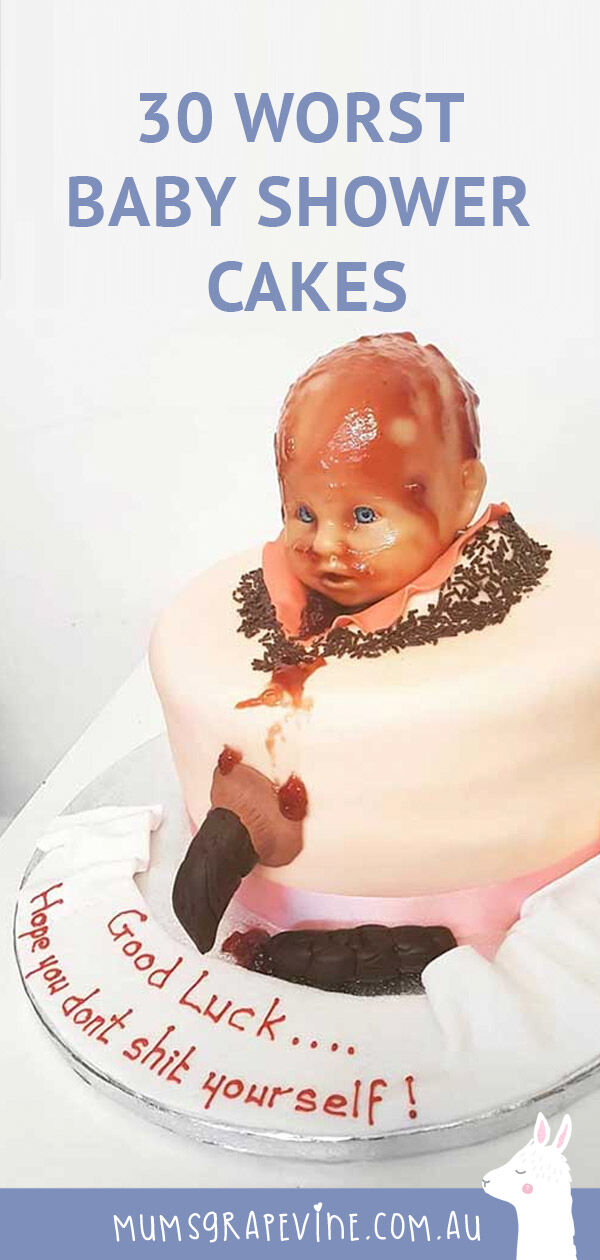 World's worst birthing cakes for baby showers