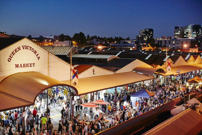 Europa Night Market comes to Queen Victoria Market this Autumn