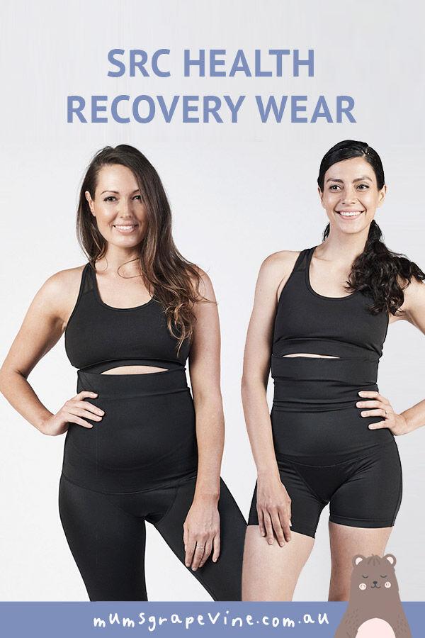 SRC postpartum recovery shorts