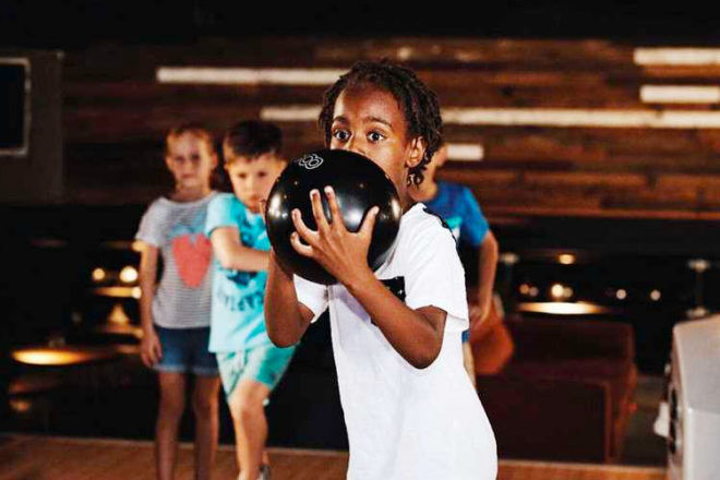 Kids enjoy unlimited play at Strike Bowling these school holidays