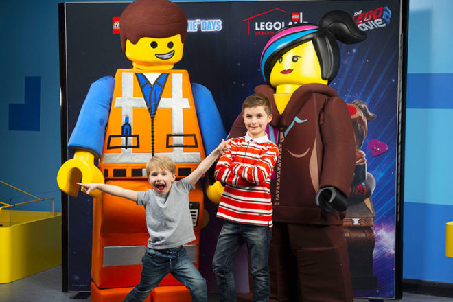 The LEGO Movie Days at LEGOLAND Discovery Centre these kids school holidays