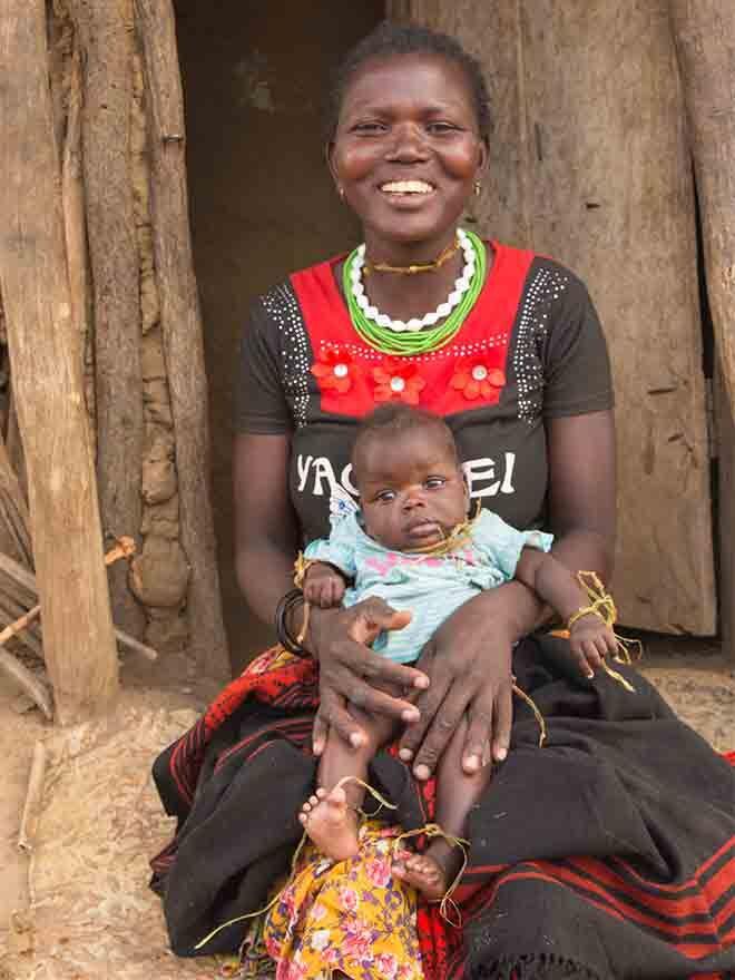 Ugandan birth ritual