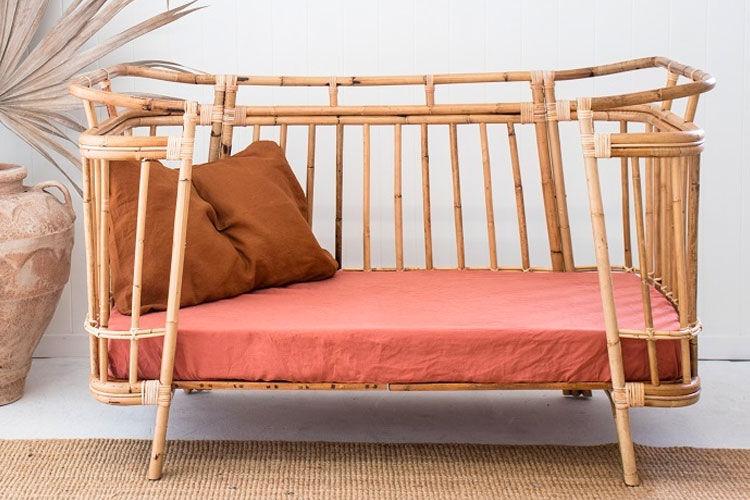 i love linen cot sheet