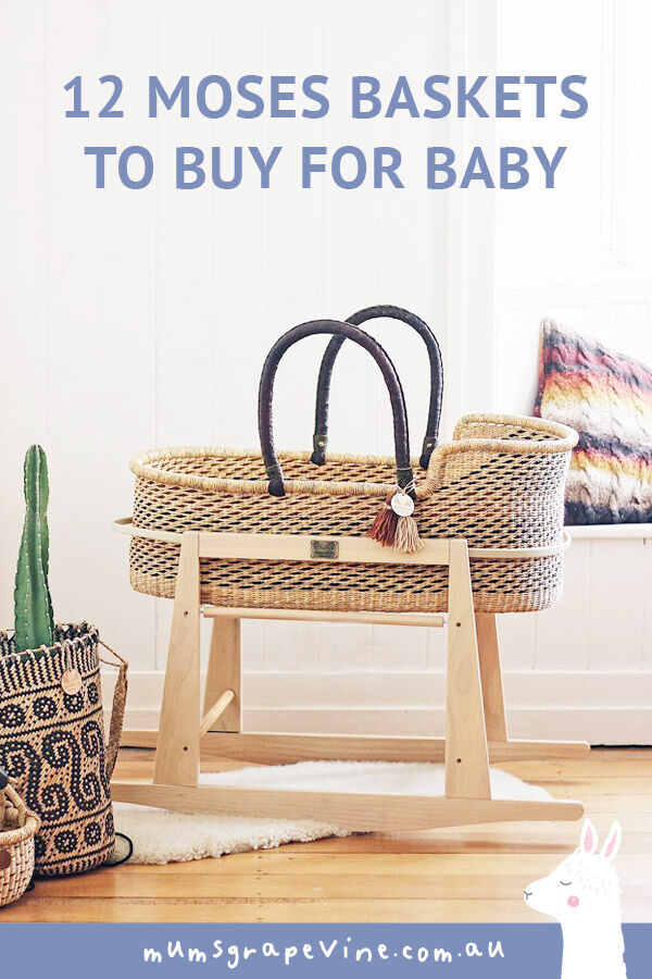 12 Moses baskets to buy for baby | Mum's Grapevine