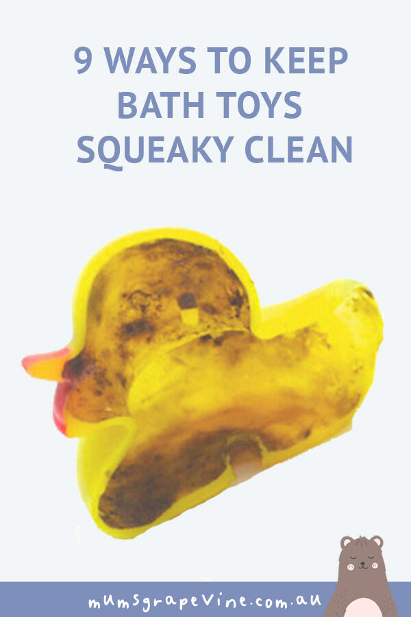 9 tips for squeaky clean bath toys