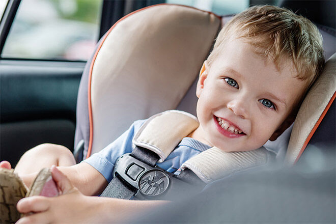 Australian research on car seat chest clips