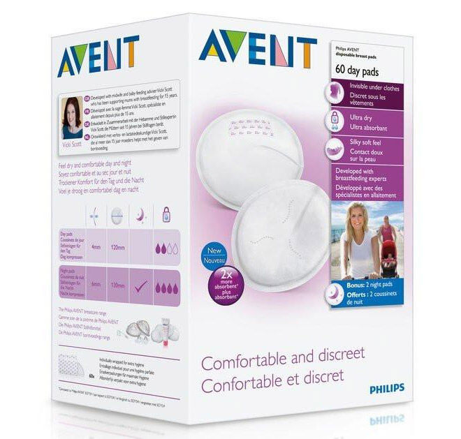 Avent Comfort Disposable Day Breast Pads