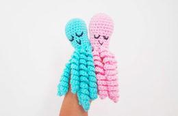 Crochet octopus helps premature babies
