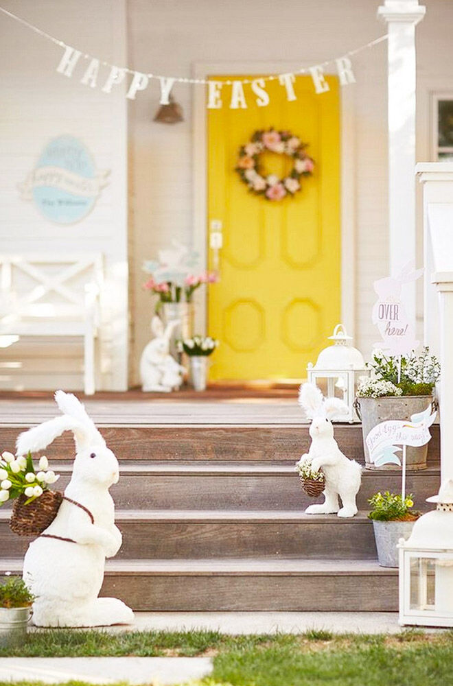 Outdoor Easter decoration ideas