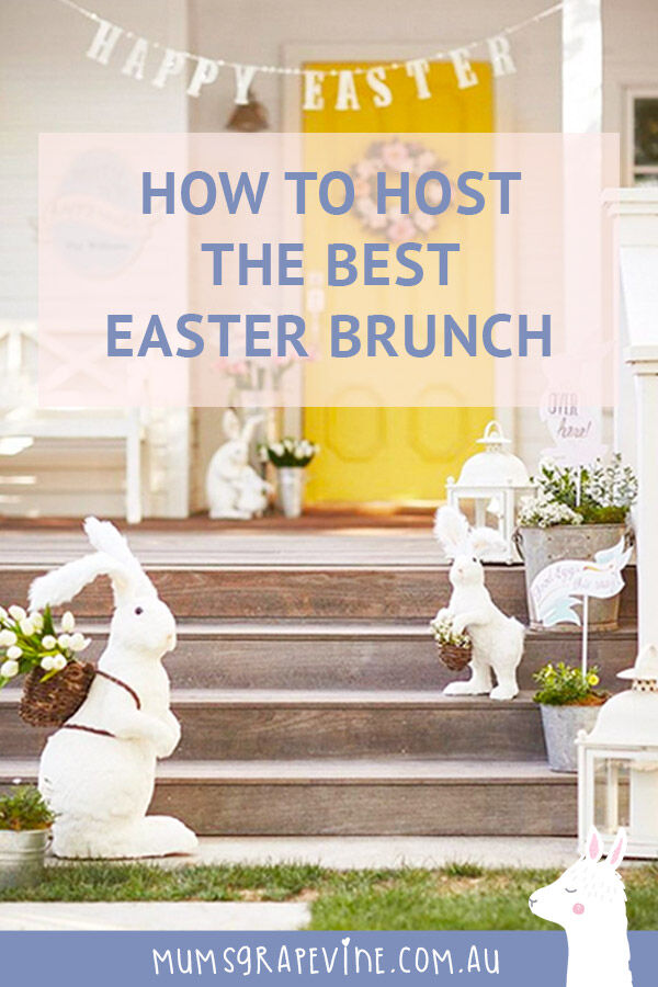 How to host the best Easter brunch at home