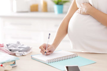 The essential lists to make before your baby is born