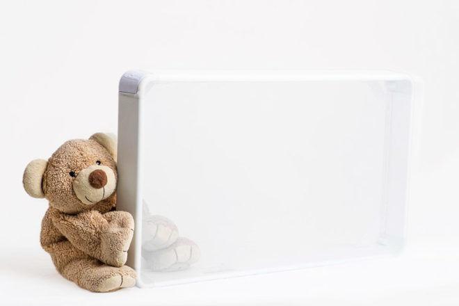 Numu-roo mesh cot mattress