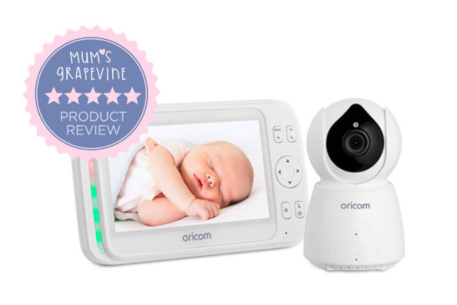 Oricom SC895 baby monitor review