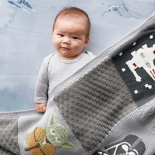 Pottery Barn Kids Star Wars blanket