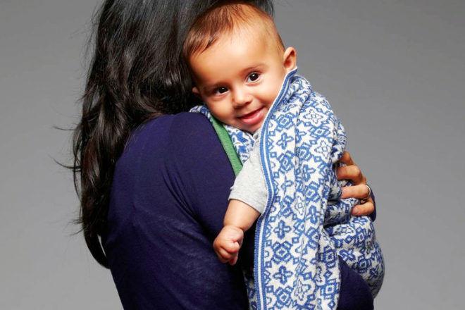 Sunday Ganim merino wool blankets
