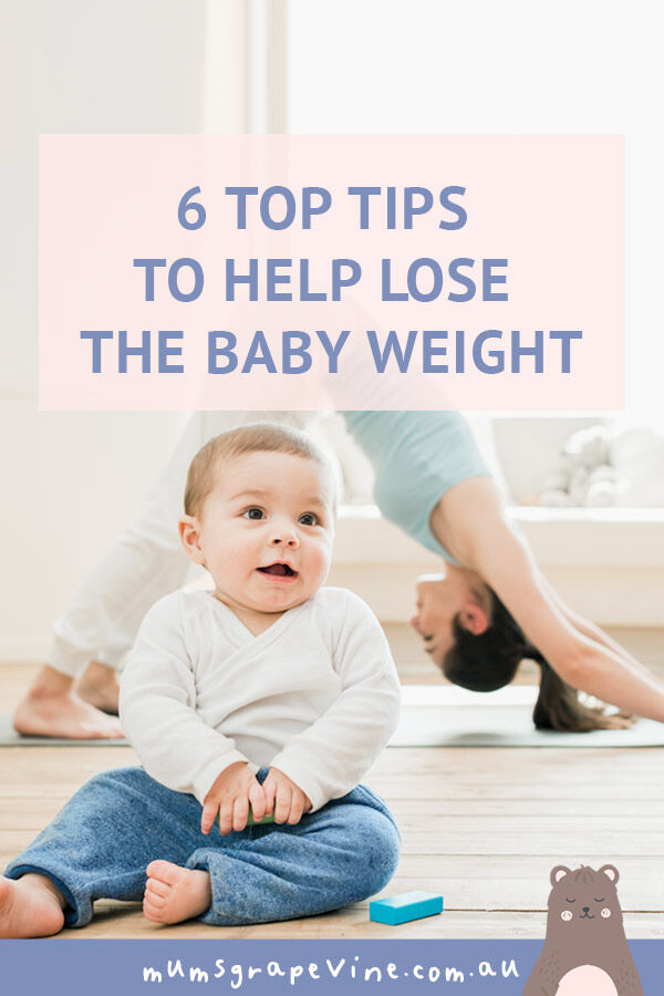 6 top tips to help lose the baby weight | Mum's Grapevine
