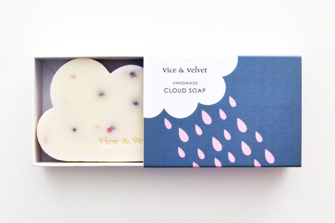 Vice and Velvet handmade cloud soap
