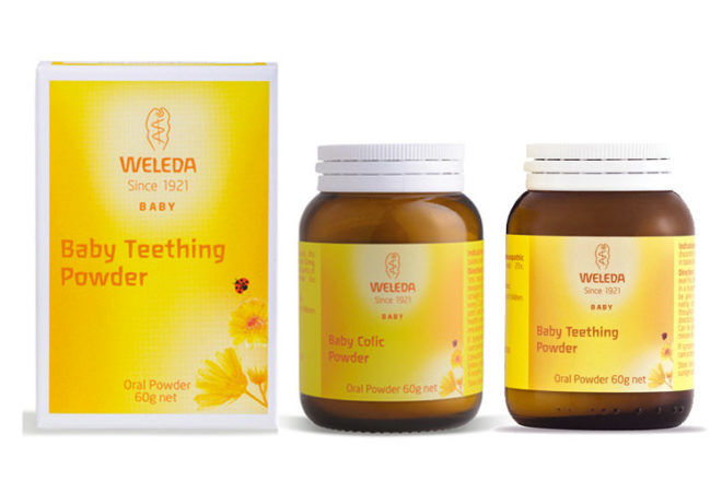 Recall Weleda teething powder and colic powder