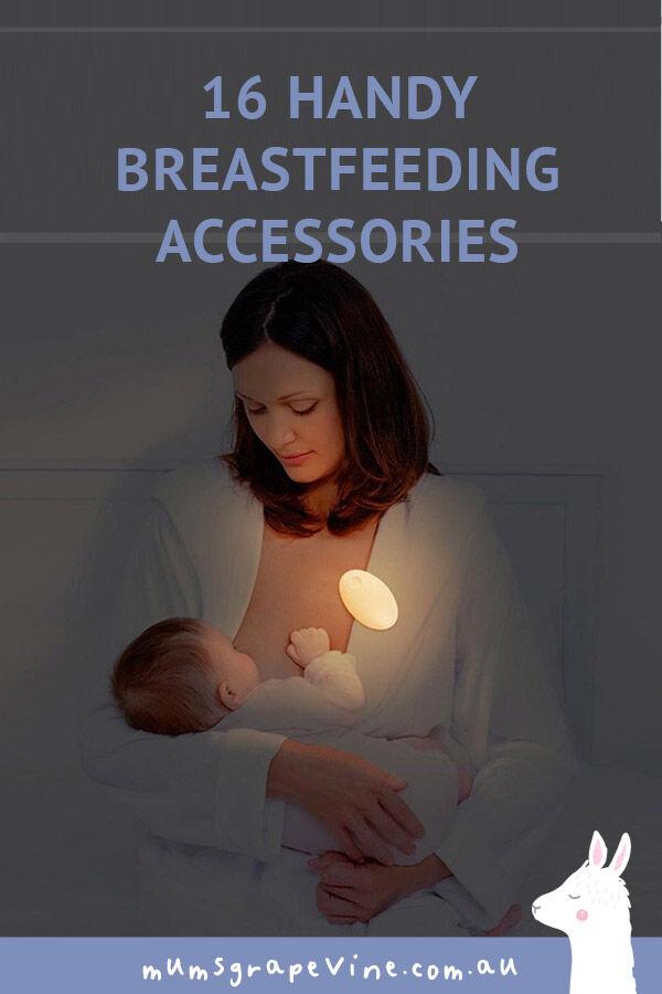 16 handy breastfeeding accessories