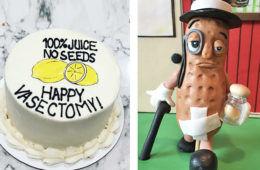 Best vasectomy cakes