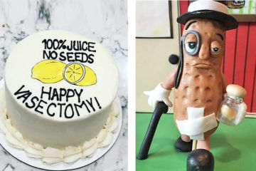 Best vasectomy cakes