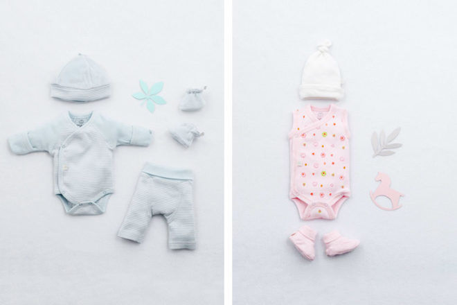 Earlybirds clothing for premature babies