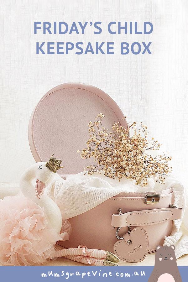 Friday's Child Personalised Keepsake Boxes
