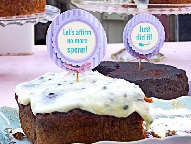 Funny v day cakes