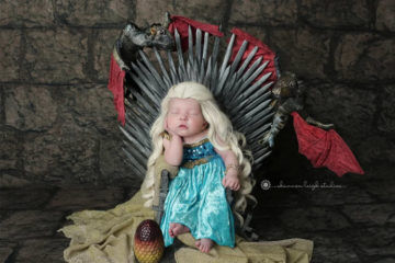 Game of Throne baby photos