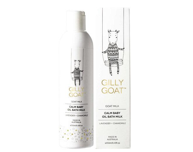Gilly Goat Calm Baby Oil Bath Milk