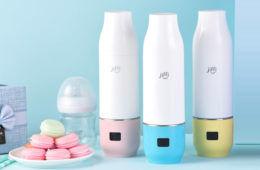 Jiffi portable bottle warmer | Mum's Grapevine