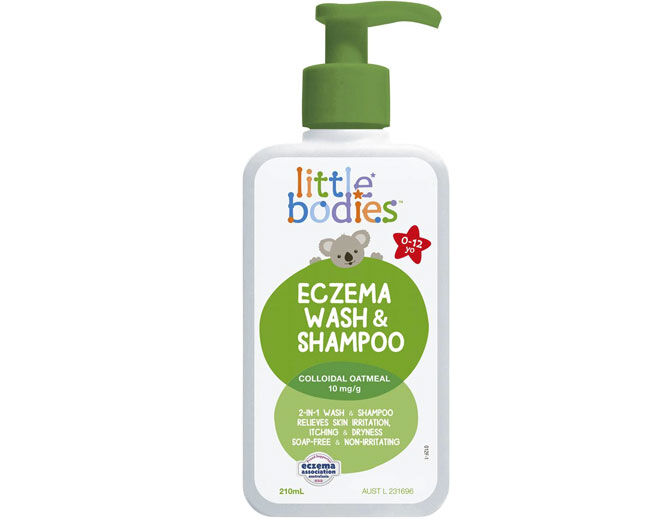 Little Bodies Eczema Relief Wash & Shampoo