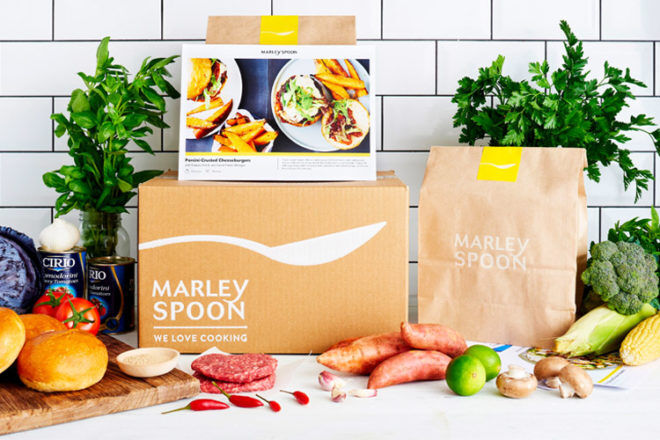 Marley Spoon recipe and delivery service