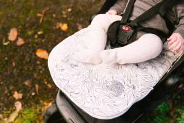 Expect-a-spill pram liners by Marmalade Lion