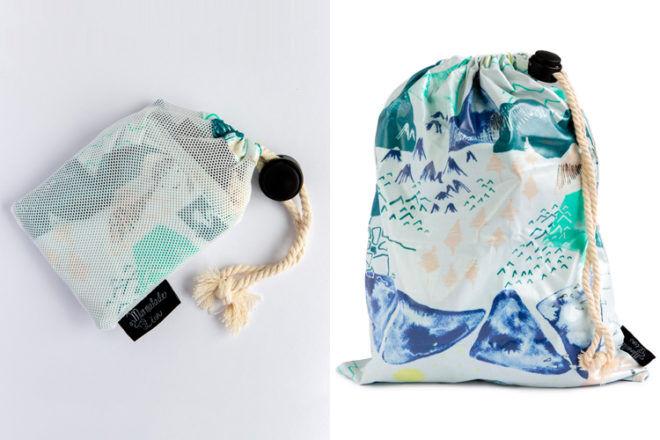 Marmalade Lion Blue Mountains wet bag