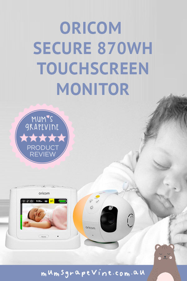 Oricom Secure870WH video baby monitor