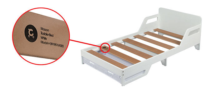 Toddler bed recall
