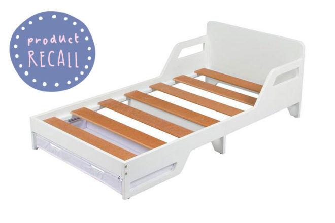 Target toddler bed recall