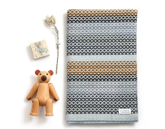 uimi Merino Wool Baby Blanket