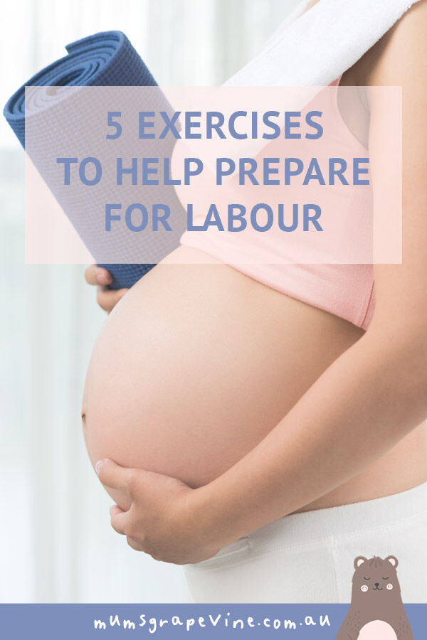 5 exercises in 5 minutes to help prepare your body for labour | Mum's Grapevine